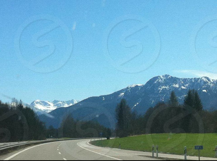 a beautiful moment captured of the alps in Austria. photo