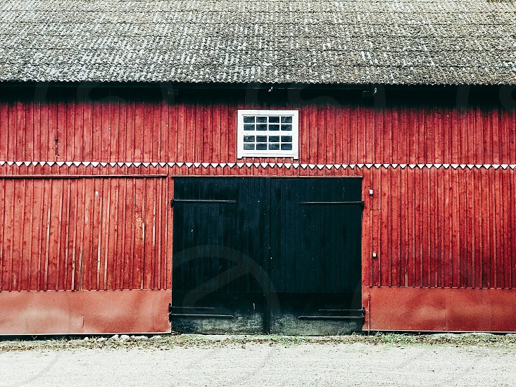 Architexture barn wooden countryside  door composition  photo