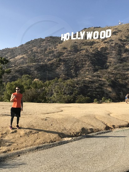 Hollywood sign Hike photo