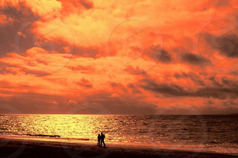 A sunset walk photo