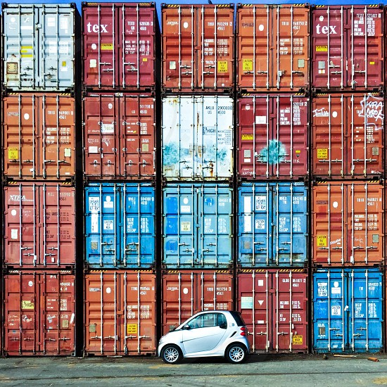 Smartcar shipping containers  photo