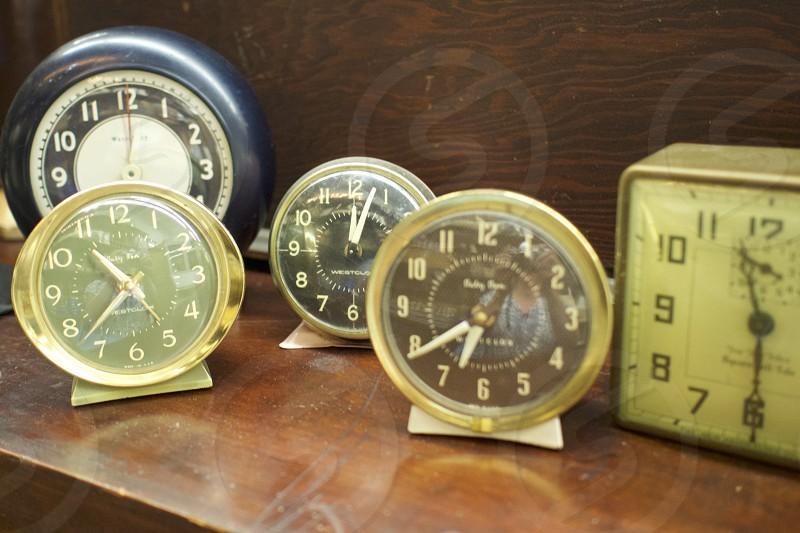 Analog clock collection    photo