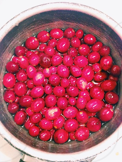 Cranberries...the most delicious side dish photo