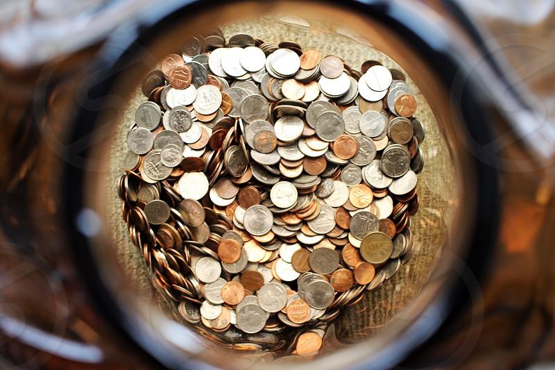 Money coins dollars banking buying selling  photo
