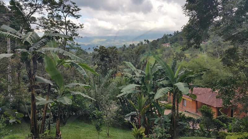 On the way to La Vega Cundinamarca Colombia. photo