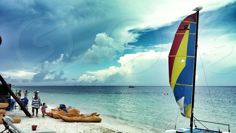 Cancun lazy day photo