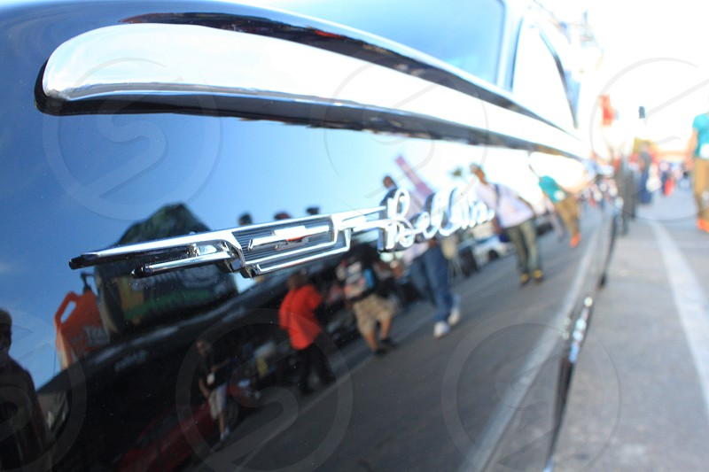 SEMA 2013- Las Vegas Nevada. Aftermarket Automotive Trade Convention... Chevrolet Bel Air photo