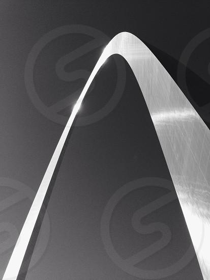 grey steel arch photo