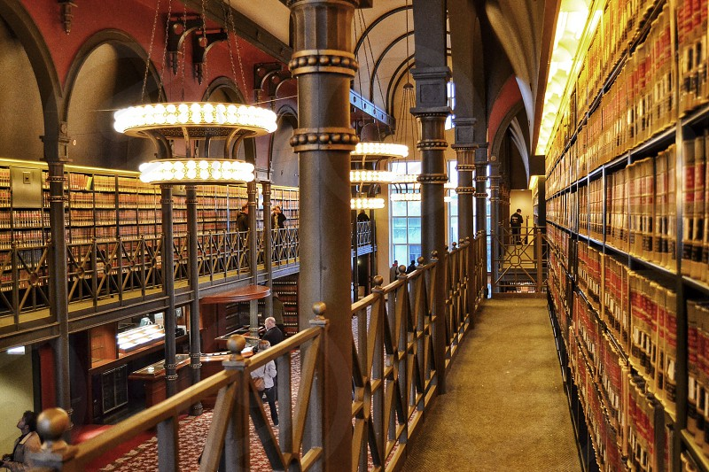 The old Chicago Law Library located at 190 S Lasalle St  photo