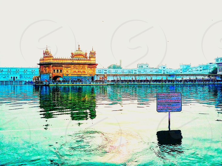 Golden temple A temple of wishes. Besides that a peacful place to visit Have a langer(God' prashad) there 24×7 photo