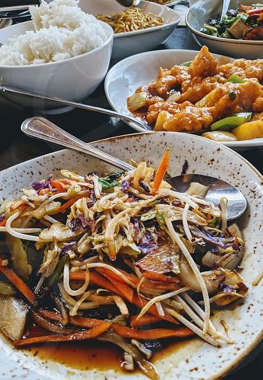 Asian fusion cuisine photo