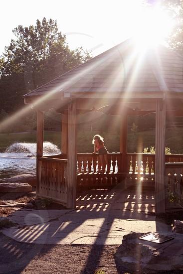 Serenity at the gazebo photo