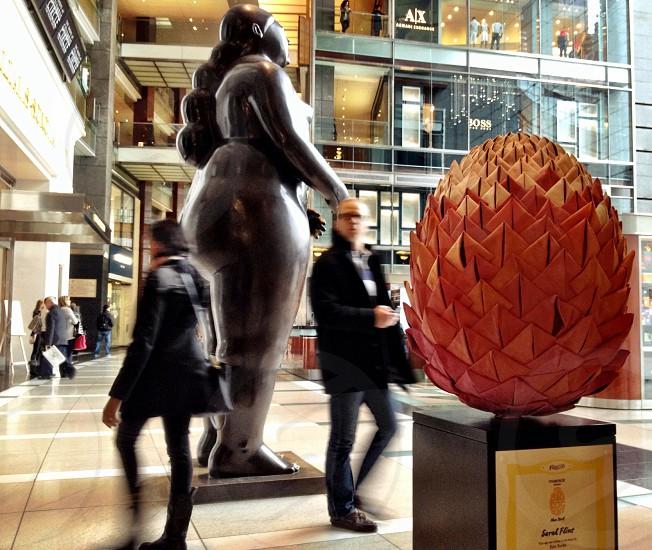 Time Warner Mall. Columbus Circle NYC. photo