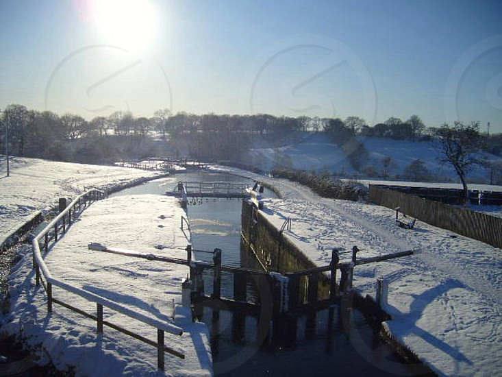 Frozen waterways photo