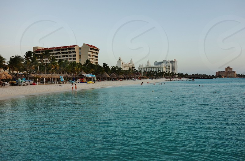 Geography of Aruba Netherlands Antilles photo