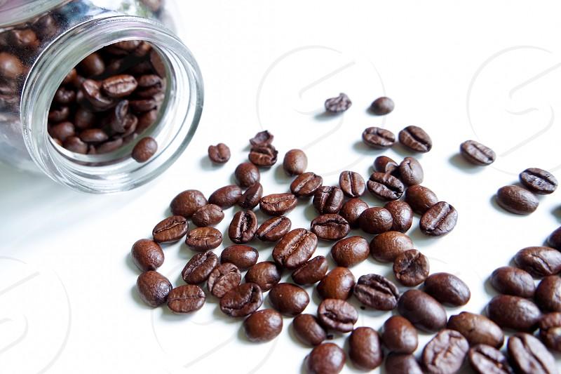 #coffee #coffee beans #black #close up  photo