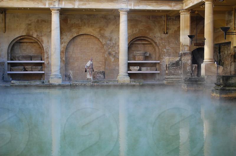 Historic Roman Baths photo