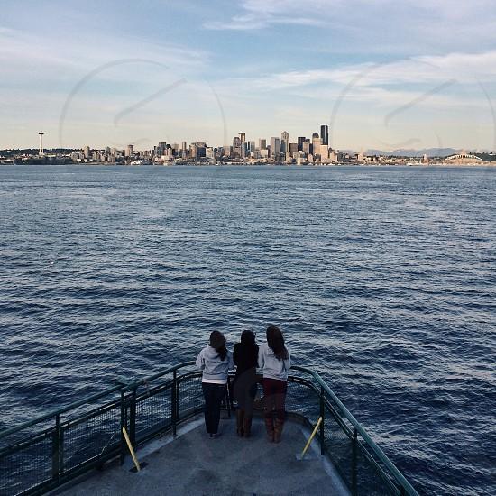 3 women on boat photography photo