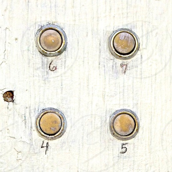 Old doorbell buttons  photo