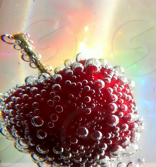 Cherry cocktails photo