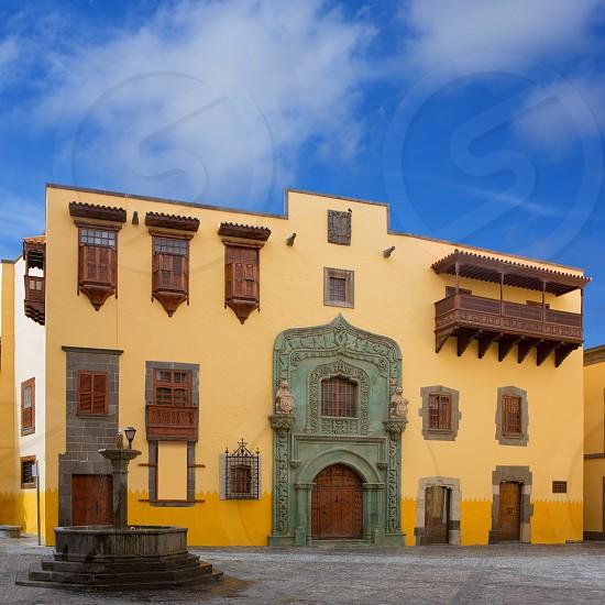 Columbus House case casa de Colon Vegueta in Las Palmas de Gran Canaria Spain  photo