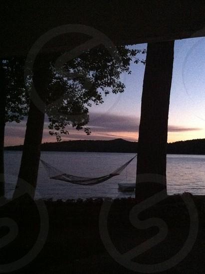 Sunrise on Lake Winnipesaukee photo