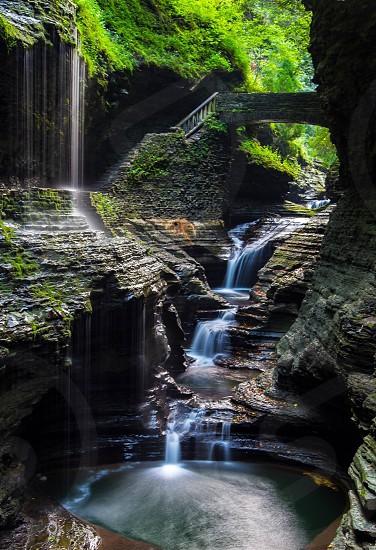 Watkins Glen State Park waterfalls nature photo