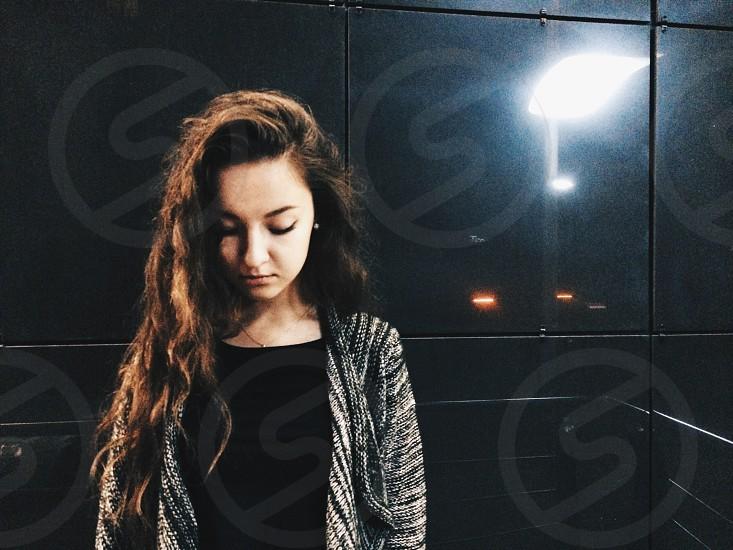 #Friend #wall #street #night #girl #women  photo