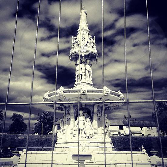 Glasgow fountain  photo