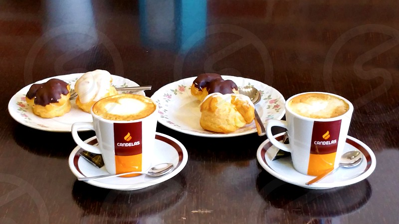 coffee and cake photo