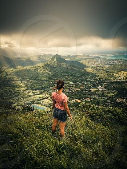 Hiking Oahu Hawaii  photo