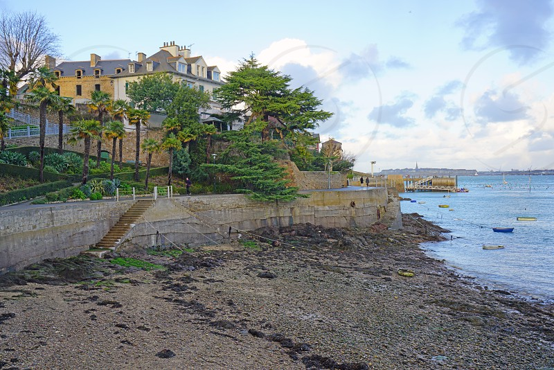Dinard in Ille-et-Villaine Brittany France photo