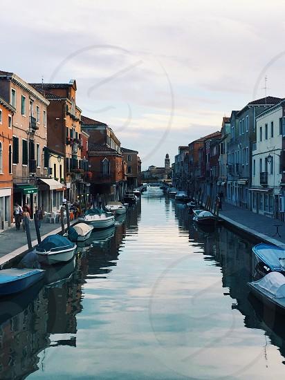 Italy Venice water canal boats city Europe travel explore photo