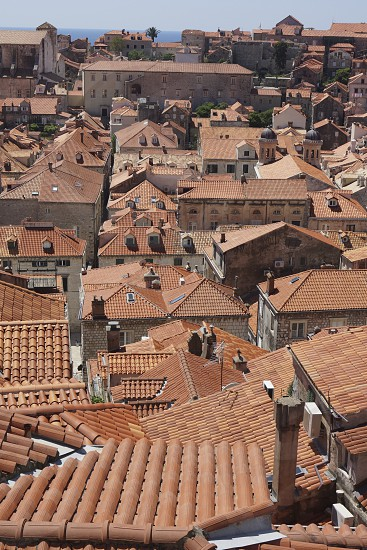 Dubrovnik roofscape photo