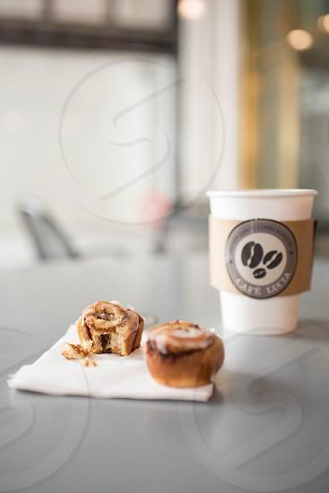 cafe coffee bar sweet treats breakfast coffee photo