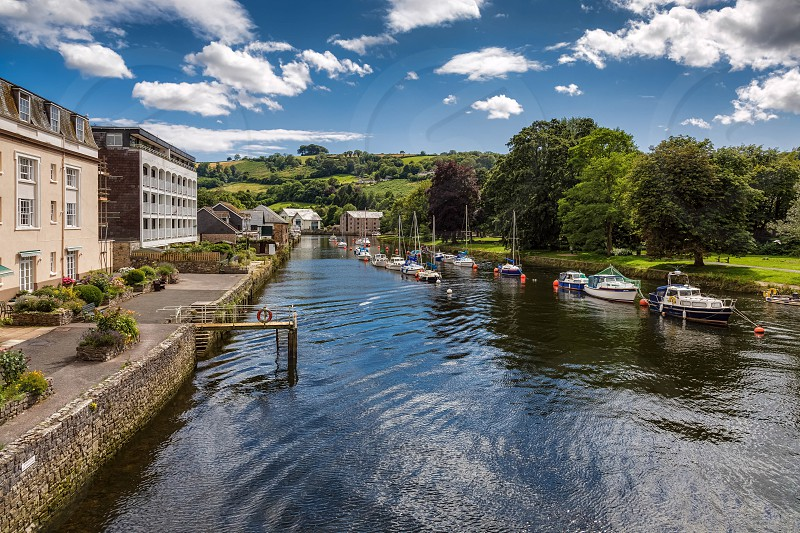 The River Dart at Totnes photo