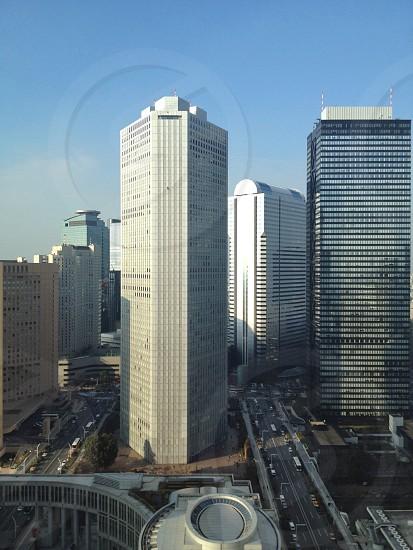white concrete buildings photo