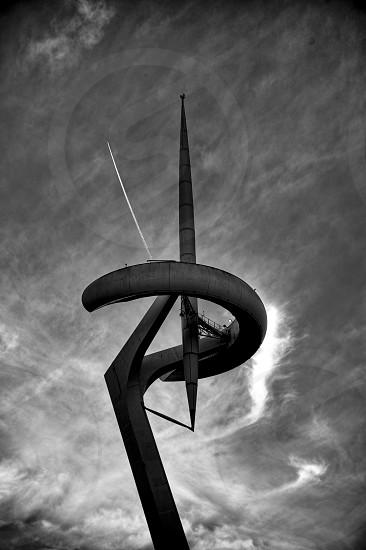 Barcelona telecommunication tower photo