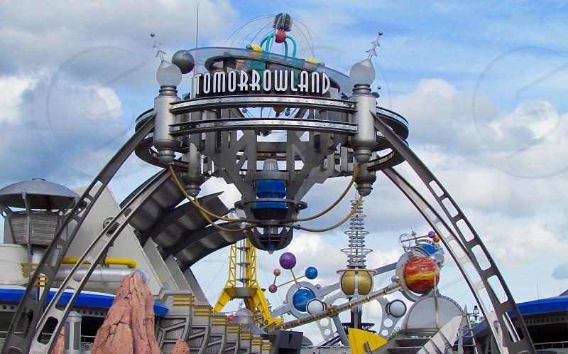 Tomorrowland at Magic Kingdom Disney World Orlando Florida photo