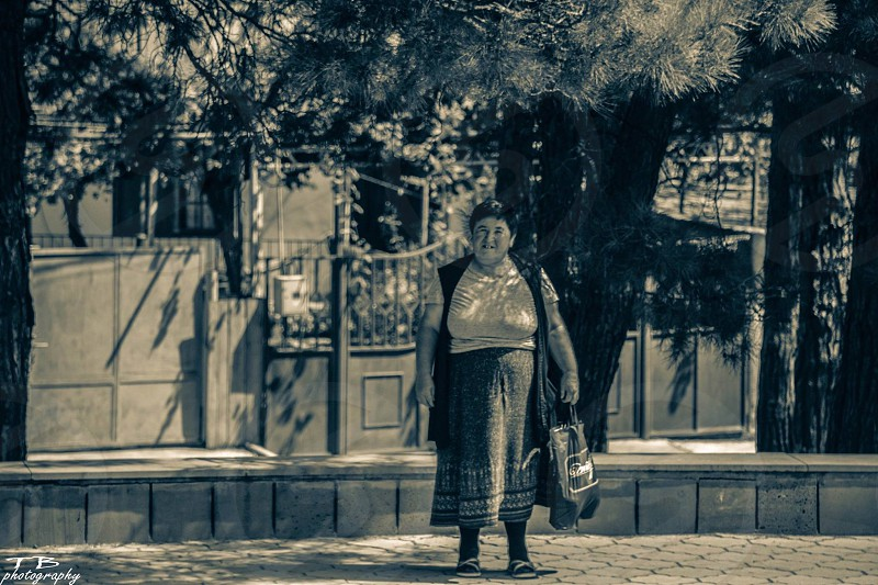 Street portrait Tbilisi-Georgia  photo