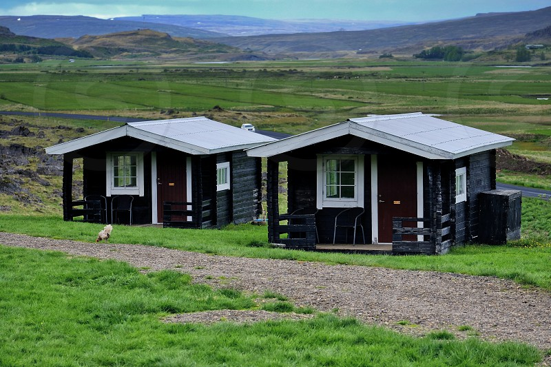 cottages in Iceland photo