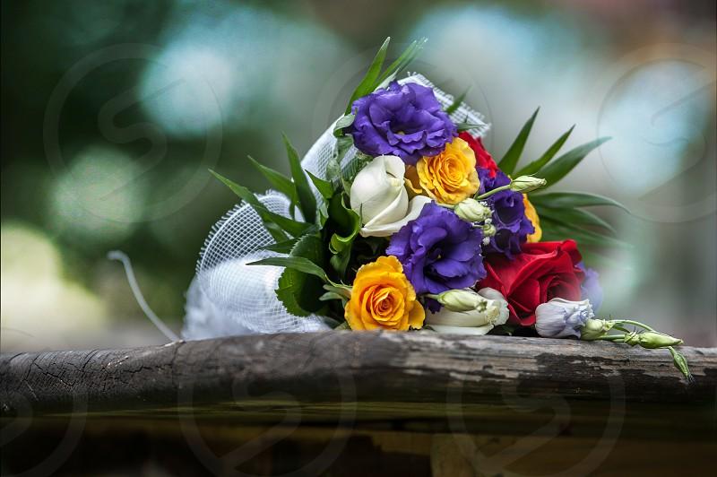 Wedding flowers Wedding day  photo