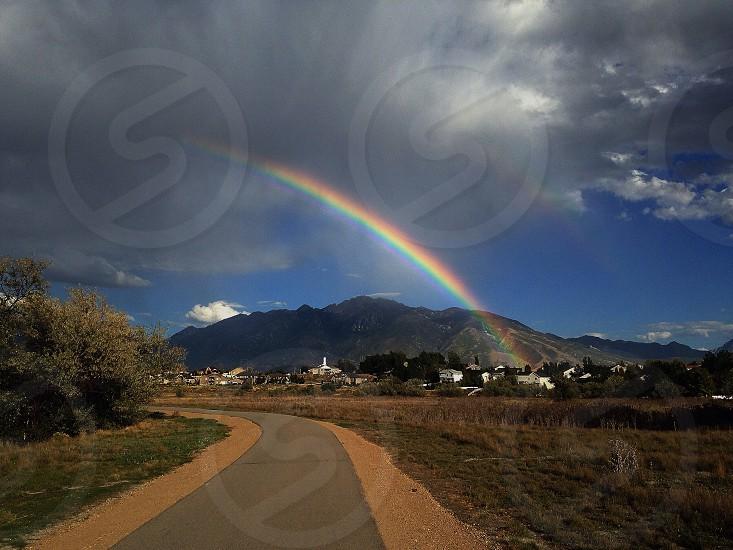 rainbow view photo