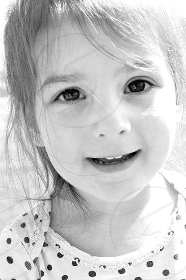 girl smiling photo