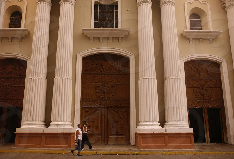 the catedrali in the city of Valencia in the west of Venezuela. photo