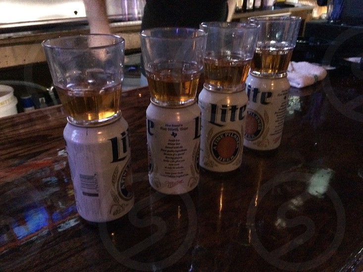 Shots and beers photo