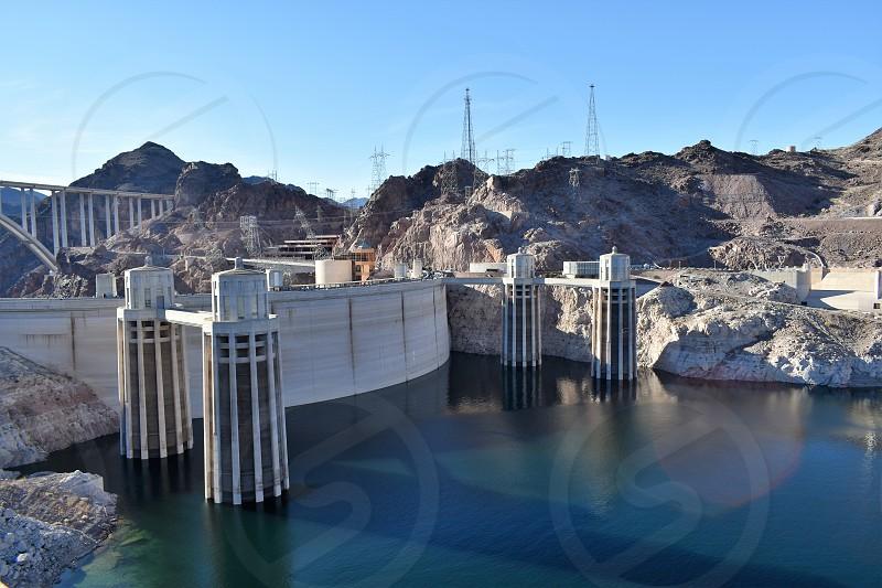 Lake mead Las Vegas Nevada U.S.A. photo