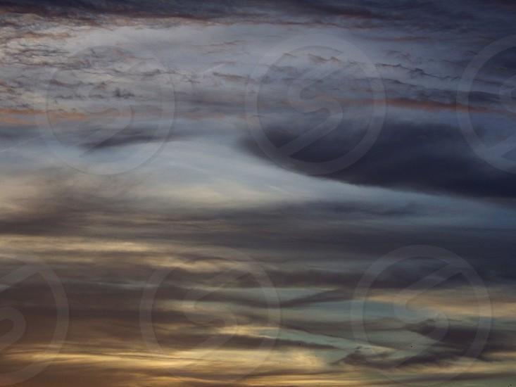 Shades of Gray across the sky photo