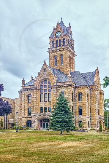 Historic Ottawa County Courthouse. Port Clinton. Ohio. USA photo