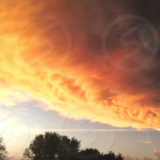 Orange Cloud photo